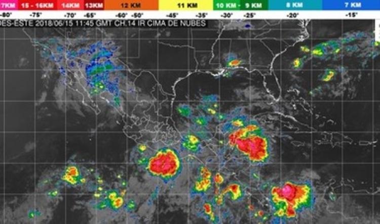 Este viernes se pronostican lluvias en todo el país