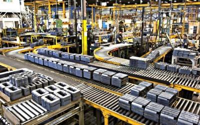 Producción Industrial aumenta un 0.2% en Agosto