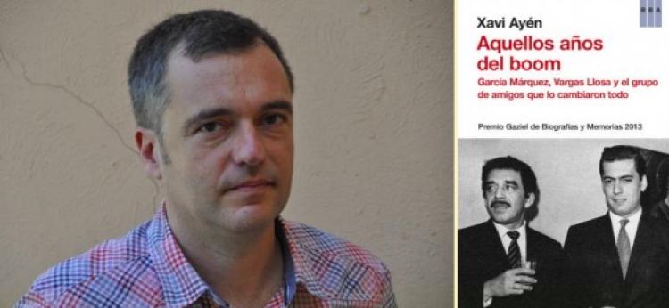 Entrevista con Xavi Ayén autor de Aquellos años del Boom