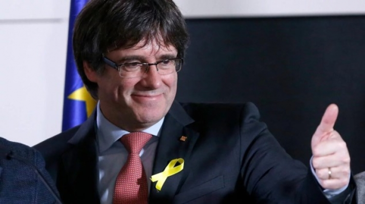 Juez retira orden internacional de Arresto contra Carles Puigdemont
