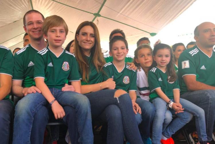 Así vivió Ricardo Anaya el triunfo de la Selección Mexicana en Rusia2018