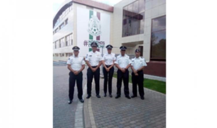 Policía Federal de México ayuda a la policía Rusa durante el mundial