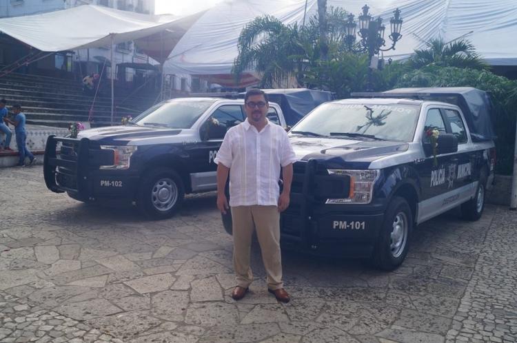 En Cuetzalan adquieren dos nuevas patrullas para labores de vigilancia