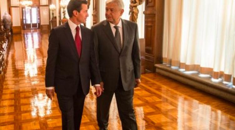 Próximo encuentro entre AMLO y EPN hasta diciembre