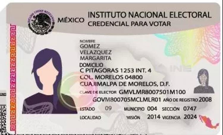 Hoy es el último día para reimpresión de la credencial para votar