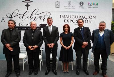 """Inauguran exposición """"Celebrare: 475 años del traslado de la diócesis"""""""