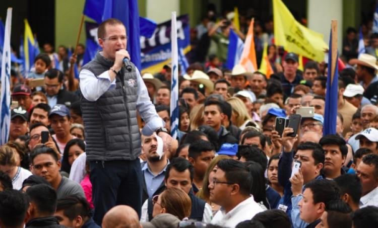 Así fue el paso de Ricardo Anaya por Veracruz