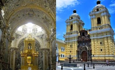 Capilla del Rosario compite con iglesia de San Francisco para elegir a la arquitectura del barroco en América