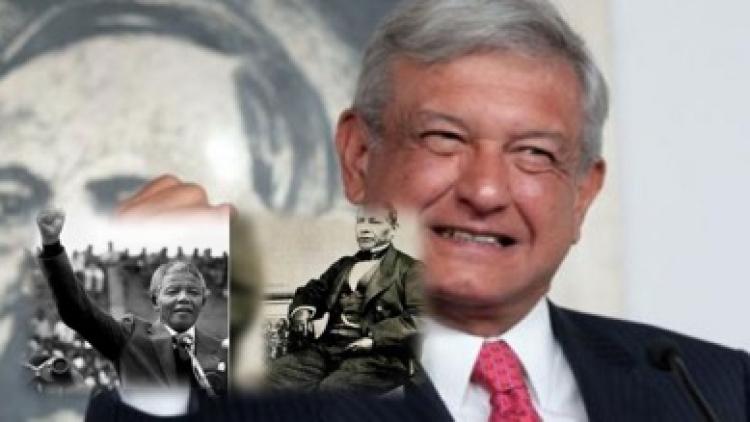 López Obrador destaca aniversarios de Mandela y Benito Juárez
