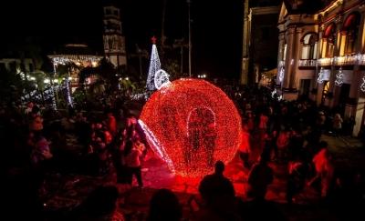Cuetzalan da la bienvenida a la Navidad