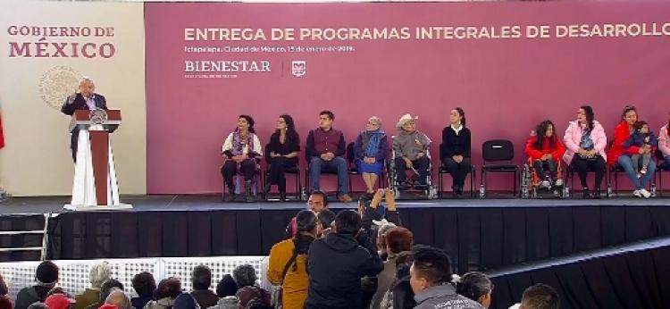 AMLO anuncia la implementación del programa Tandas para el Bienestar