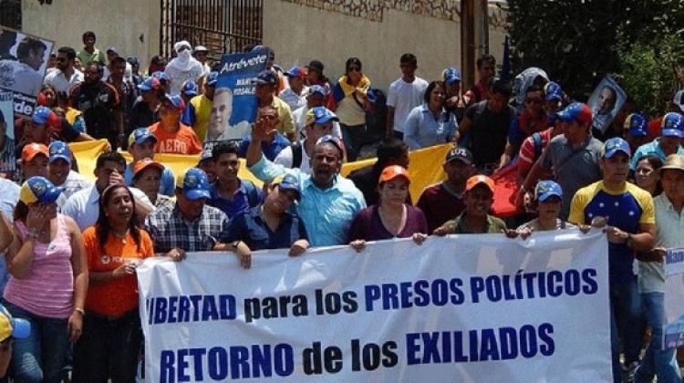 Sin respuestas las demandas de presos políticos en Venezuela