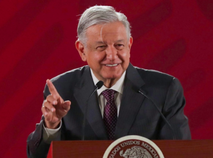 "López Obrador anuncia creación de institución para confiscar bienes a ""corruptos"""