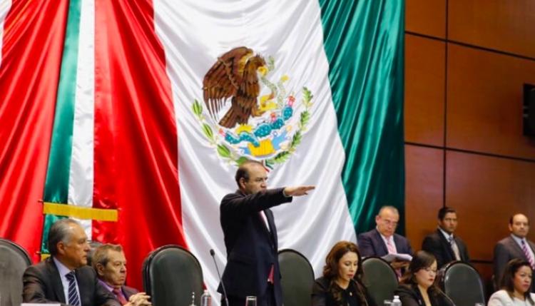 Alfonso Navarrete comparece ante comisiones de Cámara de Diputados