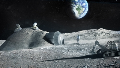 Se alista el lanzamiento de la primera misión privada a la luna
