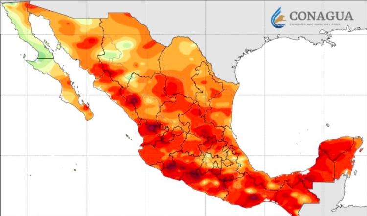 Persistirá onda de calor en la mayor parte del país