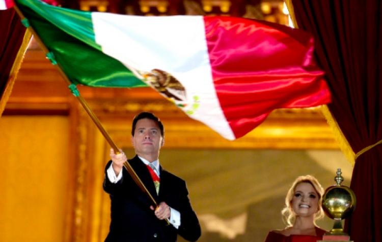 """Así se vivió el último """"Grito de Independencia"""" de Peña Nieto"""