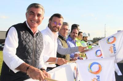 Tony Gali inaugura modernización de la 1ra etapa del Periférico