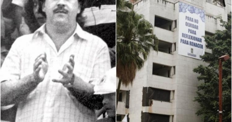 Colombia le dice adiós al Mónaco, edificio de Pablo Escobar