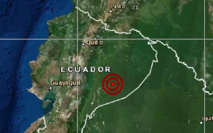 Ecuador amanece con un terremoto de 7.5º