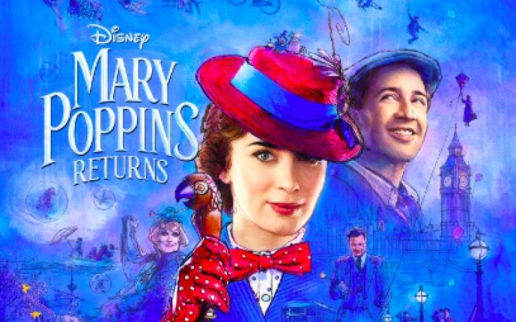 "Disney lanza tráiler de ""Mary Poppins Returns""."