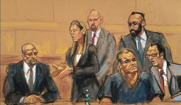 """Inicia hoy el juicio de """"El Chapo"""" Guzmán."""