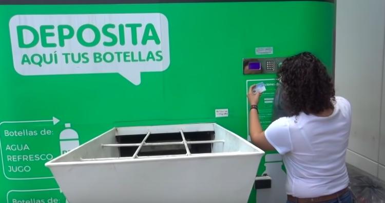 Nuevo León implementa maquinas de reciclado lucrativo