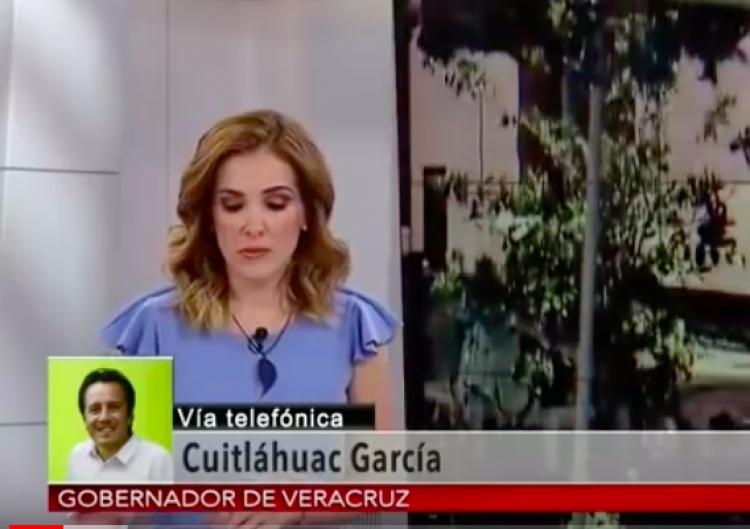 Por fortuna no eres gobernadora de Veracruz: Cuitláhuac García a Periodista