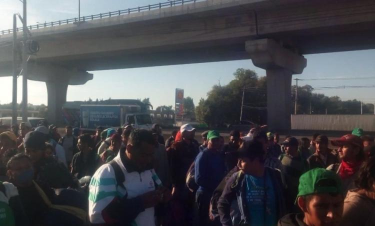 Recibe la ciudad de México al segundo contingente de la caravana Migrante.