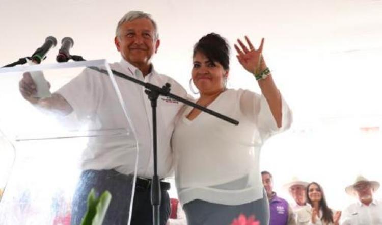 Nestora Salgado, encargada de estrategia para posible amnistía a presos políticos