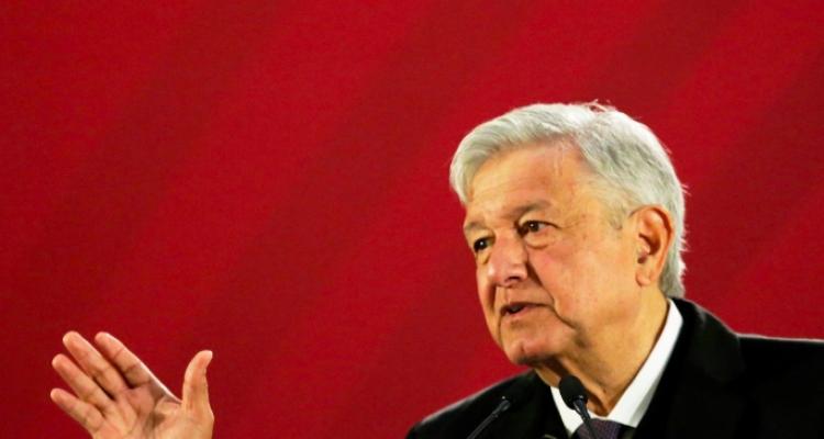 Alarma sísmica sorprende mañanera de López Obrador