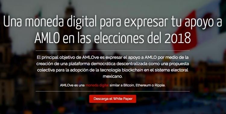 """INE declara improcedente suspender la página """"AMLOVECOIN"""""""