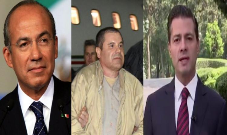 Abogado del Chapo asegura que el narcotraficante sobornó a Felipe Calderón y a EPN