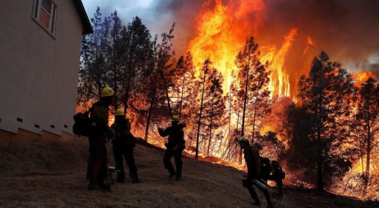 Incendio de california deja perdidas humanas y de bienes; está fuera de control