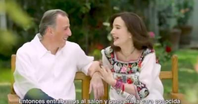 Meade cuenta la romántica historia de cómo conoció a sus esposa