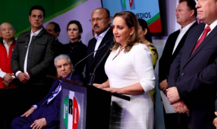 Este PRI no nos gusta: Claudia Ruiz Massieu
