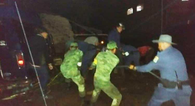 Peña Nieto destaca seguimiento del desbordamiento del río Cutio en Michoacán