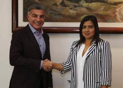 Tony Gali y Claudia Rivera suman esfuerzos a favor de la ciudad