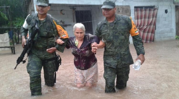 IMSS dará atención a afectados por inundaciones en Sinaloa