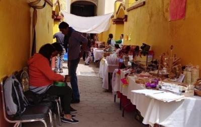 Organizan Muestra Artesanal y Gastronómica en Tlaxcala