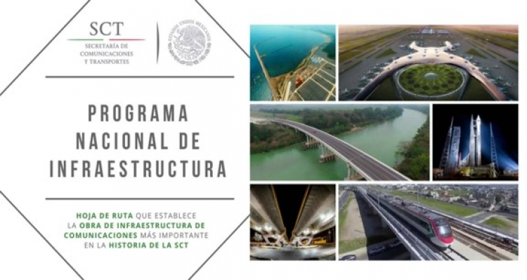 Programa Nacional de Infraestructura cumple con el país oportunamente: SCT