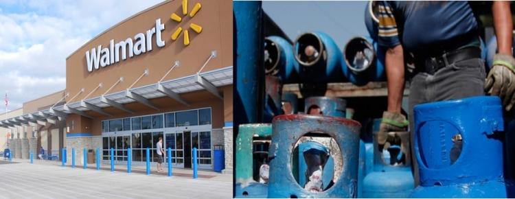 Gas LP se venderá en Walmart proximamente.