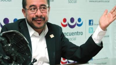 PES no está en contra de victoria de AMLO sino, del mal conteo: Hugo Eric Flores