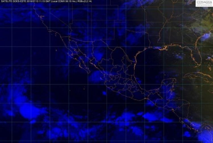 Se estiman lluvias para 24 estados este Viernes.