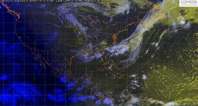 Se pronostican lluvias fuertes en Veracruz, Oaxaca y Chiapas