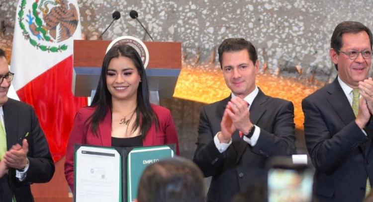 Nuestra administración cierra con 2 cifras inéditas: EPN