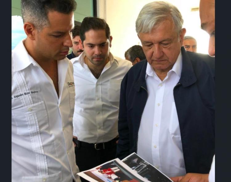 "López Obrador presenta  ""Programa Nacional de Reconstrucción"""