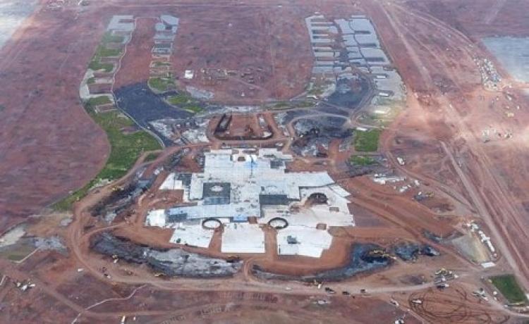 Ponen al descubierto irregularidades en la construcción del nuevo aeropuerto de la ciudad de México
