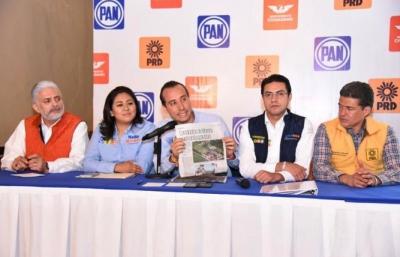 Nancy de la Sierra y José Juan Espinoza ocultan riqueza inmobiliaria de 81 mdp