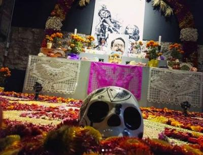Por austeridad no instalarán tradicional corredor de ofrendas en Puebla capital